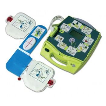 Defibrylator AED Plus z torbą transportową,bateriami i szafką metalową!