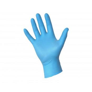 Rękawiczki nitrylowe rozmiar S